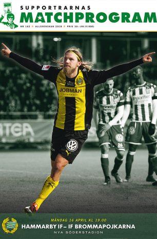 Hammarby–IF Brommapojkarna, Supportrarnas Matchprogram #2 – 2018