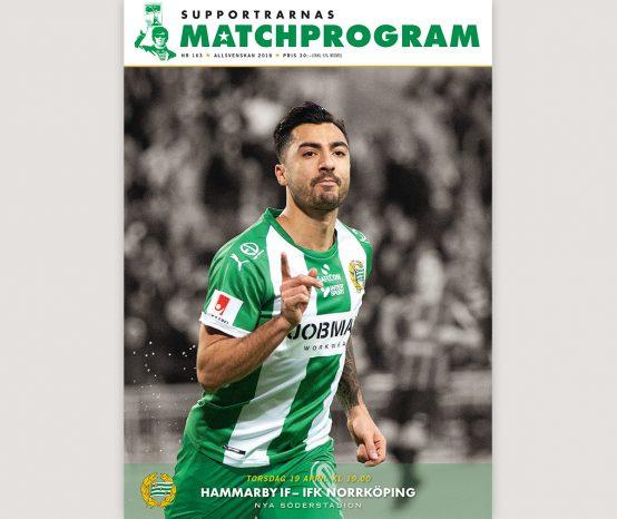 Hammarby–IFK Norrköping, Supportrarnas Matchprogram #3 – 2018