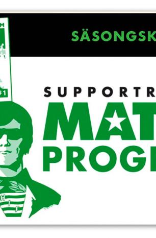 Skaffa Supportrarnas Matchprograms säsongskort 2019!