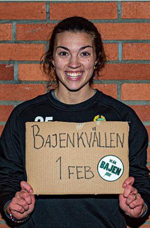 Matchprogrammet sponsrar Bajenkvällen!
