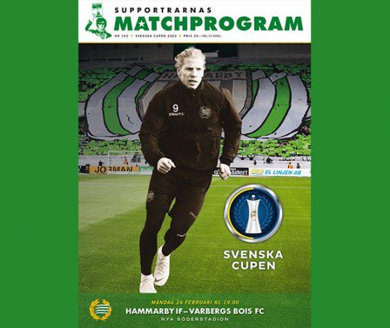 Ludwigson först ut i Matchprogrammet